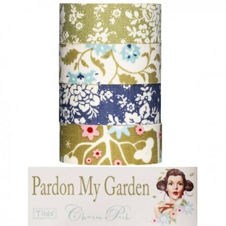 Tilda Nastri di tessuto autoadesivo Pardon my Garden
