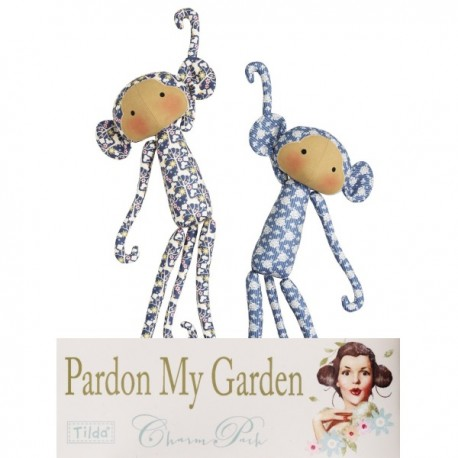Tilda kit Monkey Friends Pardon my Garden 2pz