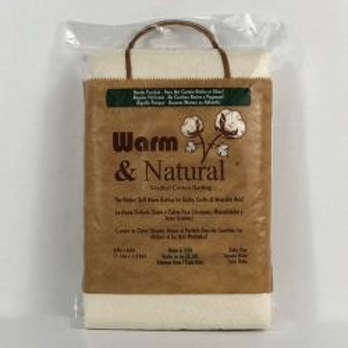 Imbottitura in Cotone Naturale, Baby 45 x 60 pollici - Warm & Natural