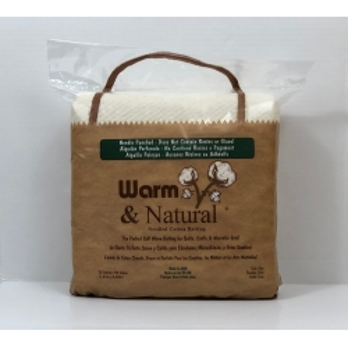 Imbottitura in Cotone Naturale, Twin 72 x 90 pollici - Warm & Natural