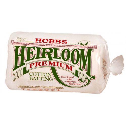 Imbottitura in Cotone 80/20, Queen 90 x 108 pollici - Hobbs Heirloom Premium Cotton Blend