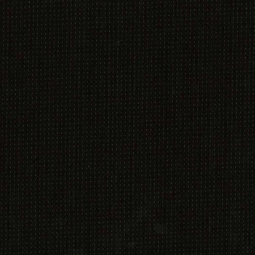 Tessuto Giapponese Tinto in Filo Nero con Lavorazione Chiara