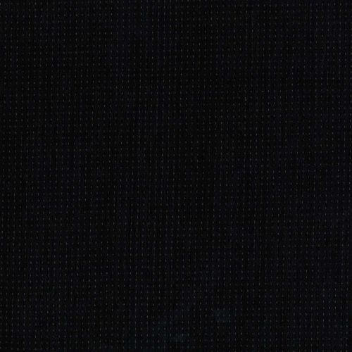 Tessuto Giapponese Tinto in Filo Nero con Lavorazione Media