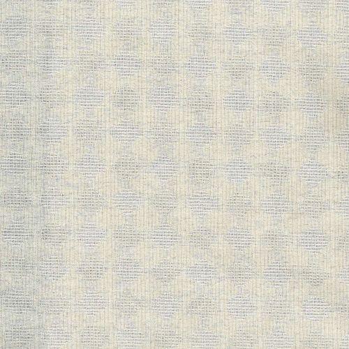 Tessuto Giapponese Tinto in Filo Panna con Cerchi