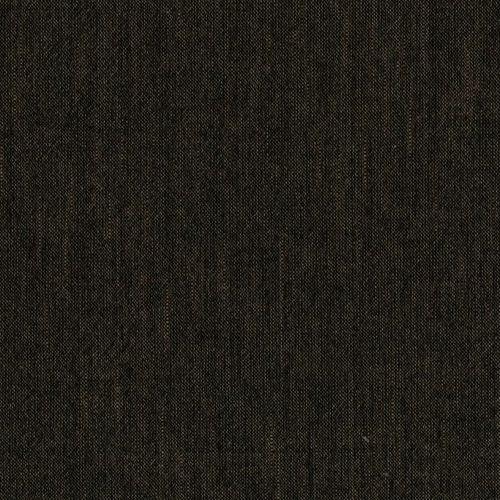 Tessuto Giapponese Tinto in Filo Marrone Scuro