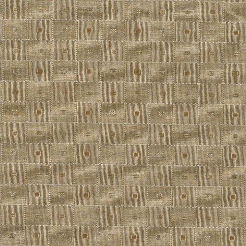 Tessuto Giapponese Tinto in Filo Lavorato Colore Marrone