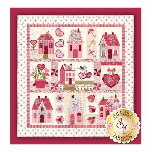 Sweetheart Houses, Cartamodello Quilt Shabby Fabrics Shabby Fabrics - 1