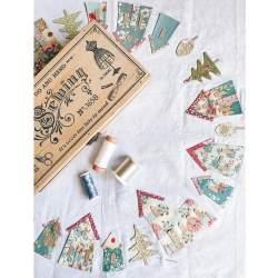 My Town Placemat dal libro Tilda Homemade & Happy - Kit di Tessuti