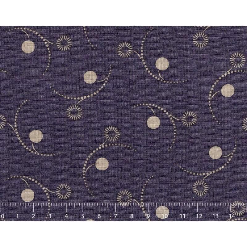 26th Centenary Collection by Yoko Saito, Tessuto Blu con Scintille Stim Italia srl - 1