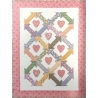 Thirties Hearts and Arrows dal libro The Big Book of Baby Quilts - Kit di Tessuti