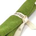 Tessuto Verde di Lana, circa 25 x 30 cm Roberta De Marchi - 2
