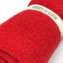 Tessuto Rosso di Lana, circa 25 x 30 cm Roberta De Marchi - 2
