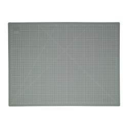Piano di Taglio 24 x 18 pollici 60 x 45 cm, Grigio - Crafters Dream