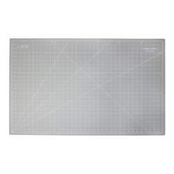 Piano di Taglio 36 x 24 pollici 92 x 60 cm, Grigio - Crafters Dream