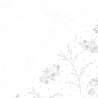 Tessuto Bianco con Rametti Fiorati Tono su Tono, Make a Wish by Kimberbell