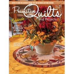 Rivista Primitive Quilts & Projects - Autunno 2021