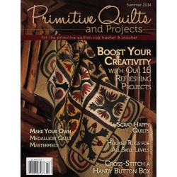 Rivista Primitive Quilts & Projects - Estate 2014