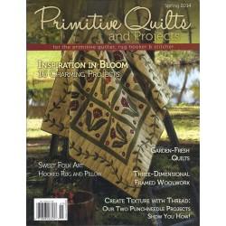 Rivista Primitive Quilts & Projects - Primavera 2014