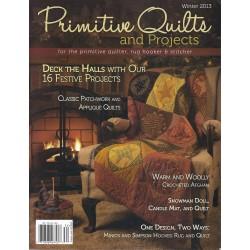 Rivista Primitive Quilts & Projects - Inverno 2013