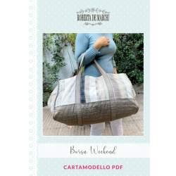 Cartamodello PDF Borsa Weekend Roberta De Marchi - 1