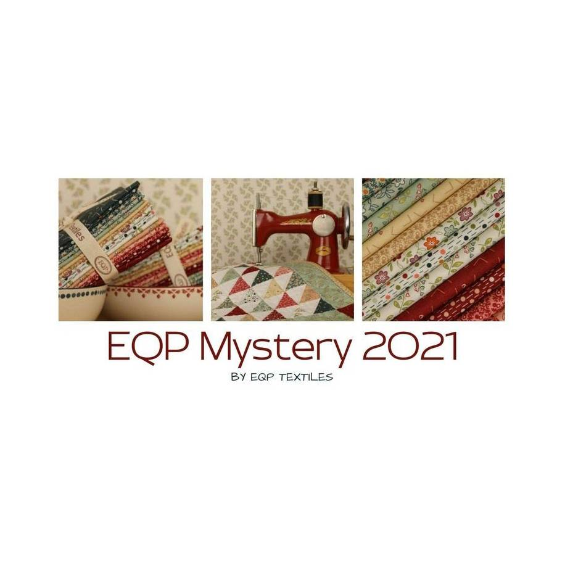 Mystery 2021 - Kit di Tessuti EQP - Collezione New Vintage Ellie's Quiltplace Textiles - 1