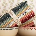 Mystery 2021 - Kit di Tessuti EQP - Collezione New Vintage Ellie's Quiltplace Textiles - 2