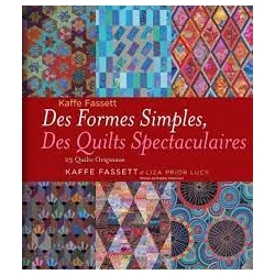 Des formes simples, des quilts spectaculaires 23 quilts originaux by Kaffe Fassett and Liza Prior Lucy