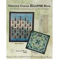 Creative Curves Ellipse Book by Virginia A. Walton