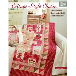 Martingale, Cottage Style Charm - Simply Sweet Designs to Quilt and Embroider by Natalie Bird