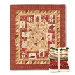 Heart and Home - Kit di tessuti dal libro Cottage Style Charm