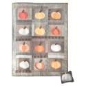 13 Pumpkins - Kit di tessuti dalla rivista Primitive Quilts Fall 2021 Roberta De Marchi - 4