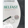 Puro Lino da Ricamo Solido Blu, fili contati 32ct - Zweigart Belfast