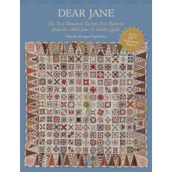 Dear Jane - the Two Hundred Twenty-five Patterns from the 1863 Jane A. Stickle Quilt Wrights Publishing - 1