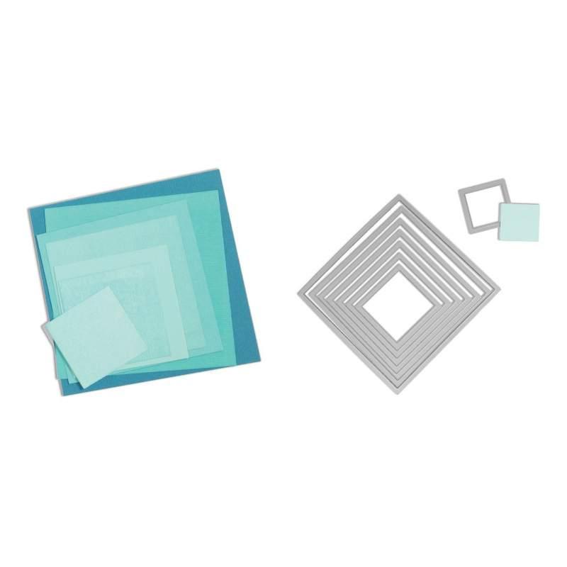 Framelits Die Set 8PK Squares