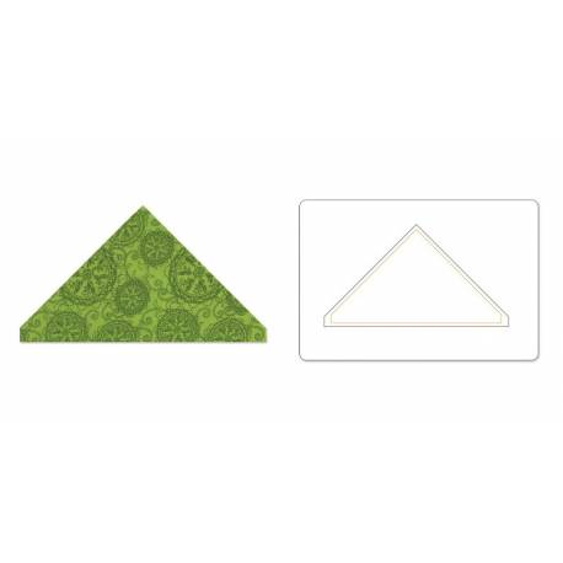 Sizzix, Bigz L Die Triangle, 3 5/8 x 6 1/2 pollici