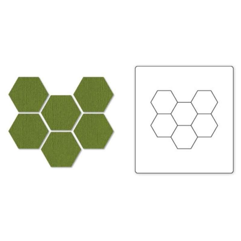 """Bigz Die Hexagons, 3/4"""" Sides"""