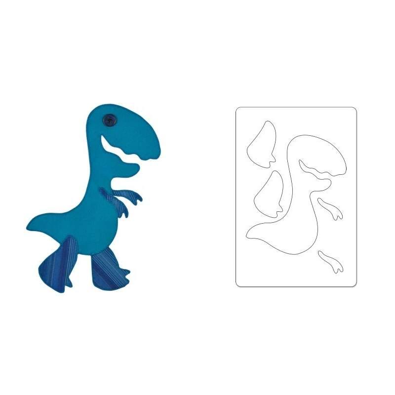 Sizzix, Bigz L Die Dinosaur, T-Rex