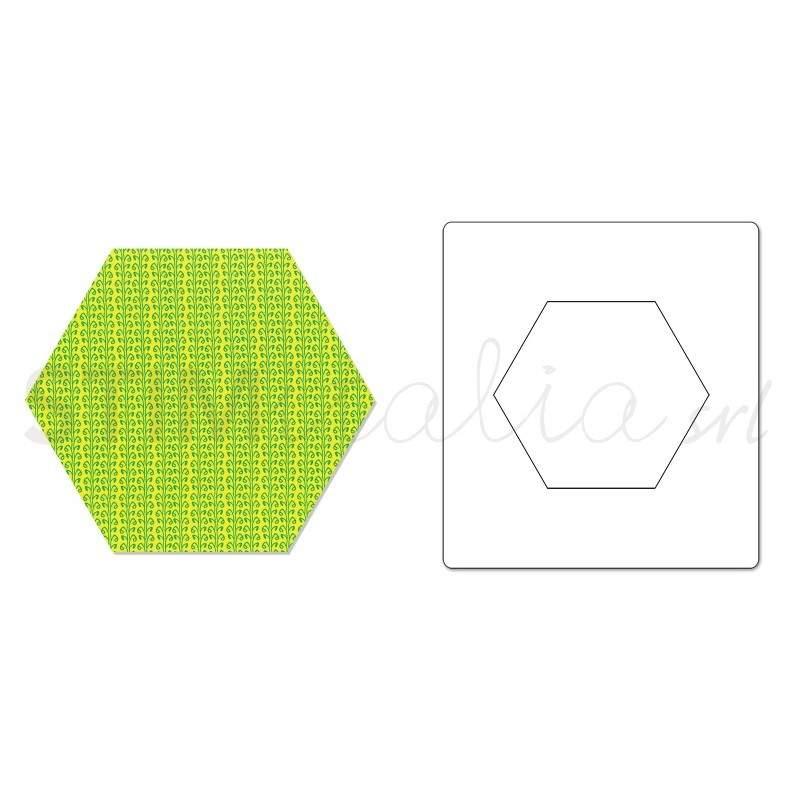 Sizzix, Bigz Die Hexagon, 1 3/4 pollici a Lato **659145**
