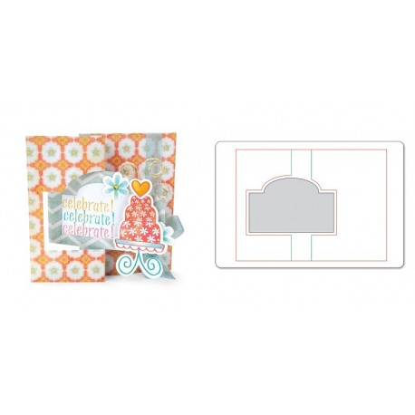 Sizzix, Movers & Shapers L Die - Card, Ornate Flip-its by Stephanie Barnard