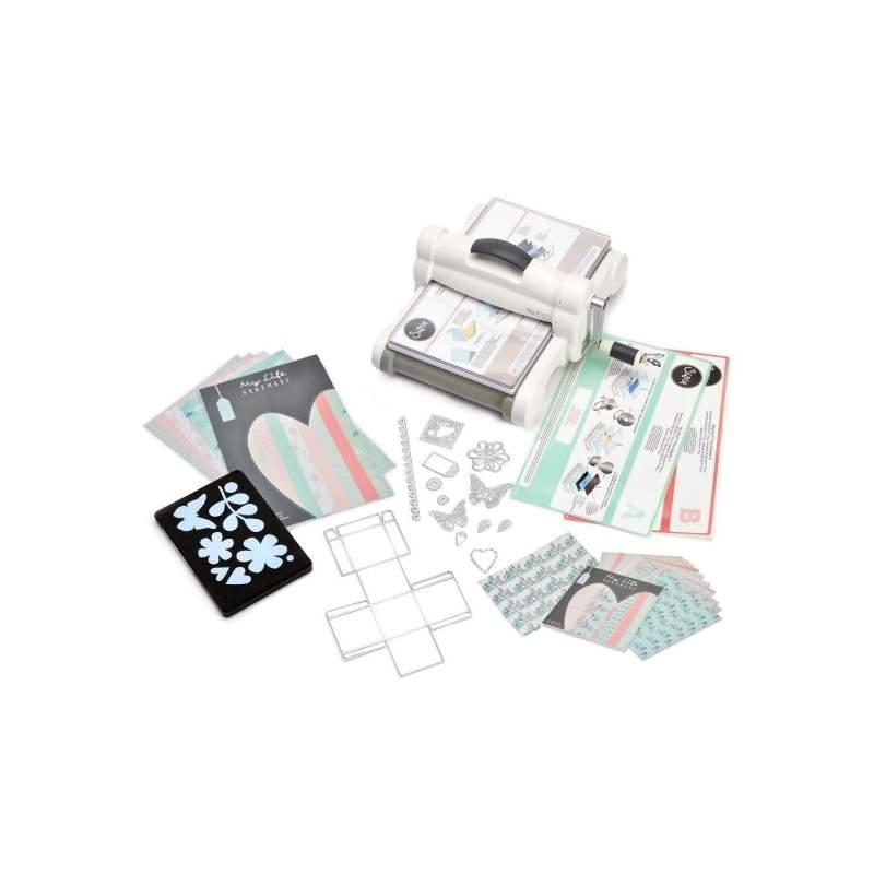 Sizzix, Big Shot™ Plus Starter Kit My Life Handmade (White & Grey)