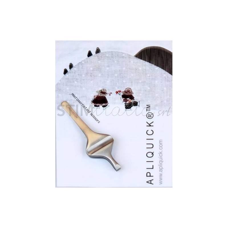 Apliquick, Pinzette Ergonomiche per Tecnica Appliquè su Tessuto