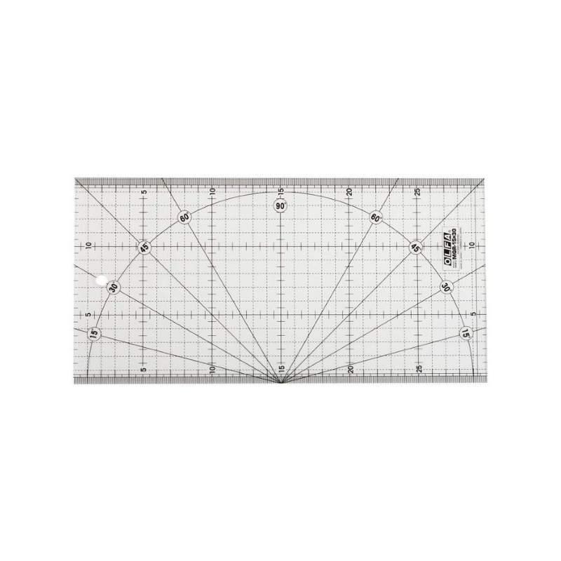 OLFA Righello Patchwork 15x30cm