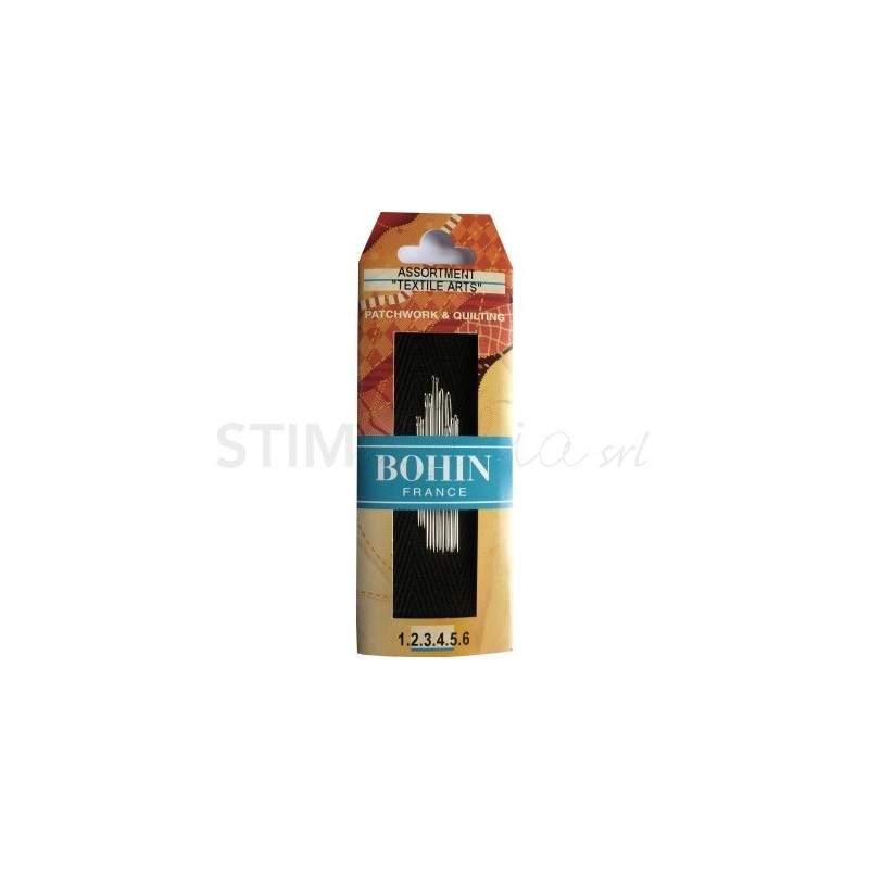 Bohin, Aghi Kit per Patchwork, Applique, Ricamo, Punto a Croce, Cucito - 14pz Bohin - 1
