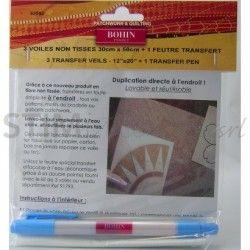 Bohin, Carta da Ricalco Magic Paper + Pennarello