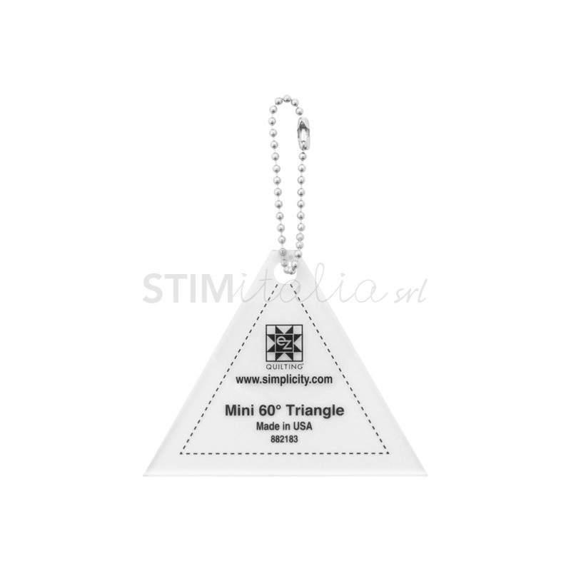 Ez Quilting MINI 60° TRIANGLE - Squadretta Triangolare da 3 x 2,5 pollici EZ Quilting - 1