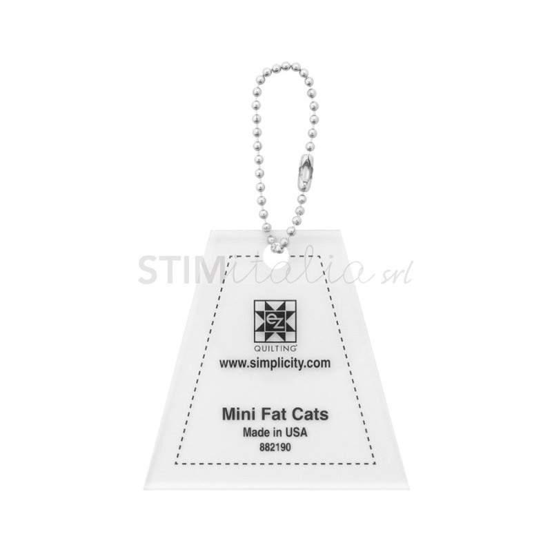 Ez Quilting MINI FAT CATS - Squadretta per Template Fat Cats EZ Quilting - 1