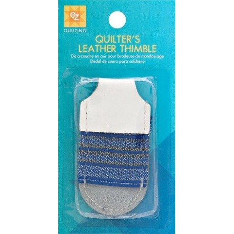 Ez Quilting QUILTERS LEATHER THIMBLE