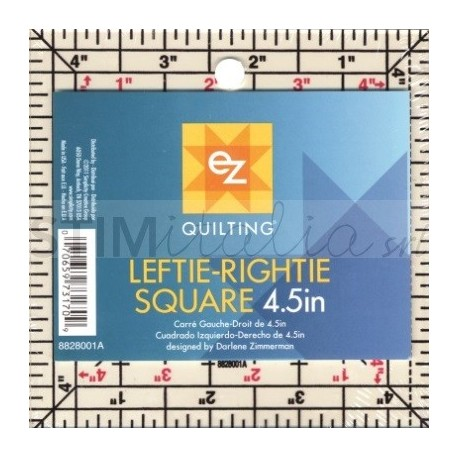 Ez Quilting Leftie-Rightie Square - 4,5""