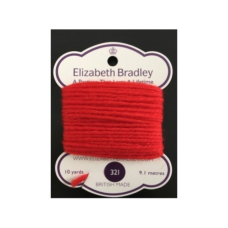 Elizabeth Bradley, Lana da Ricamo, n.321
