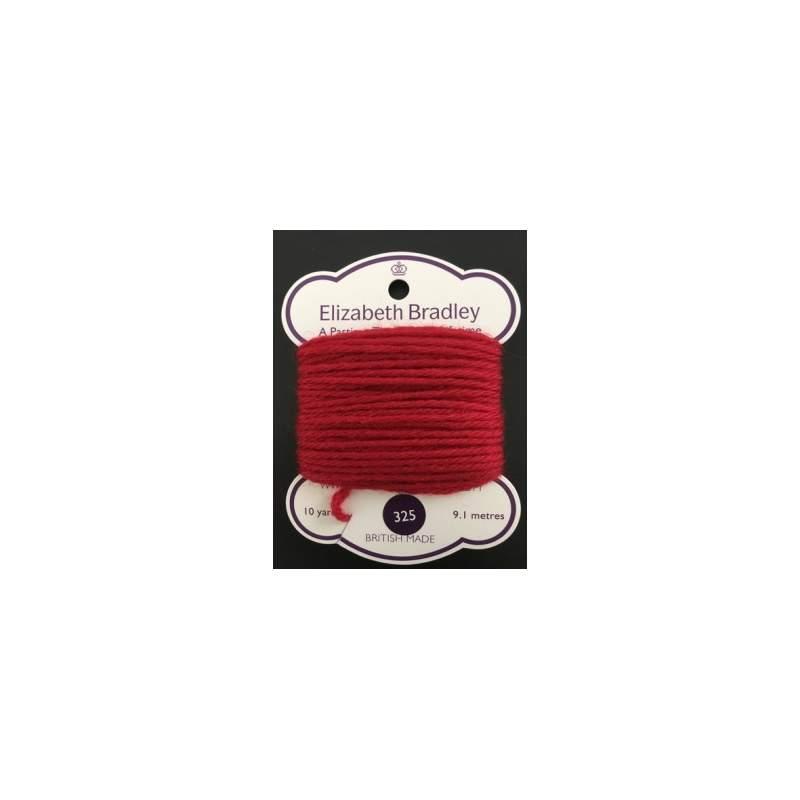 Elizabeth Bradley, Lana da Ricamo, n.325